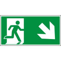 rettungsweg_rechts_abwaerts